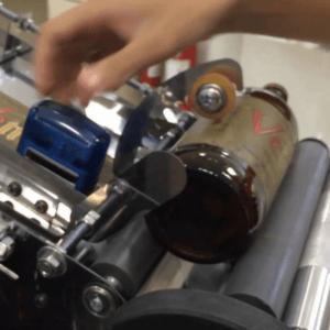 Rotuladora rotuladeira aplicar rótulos
